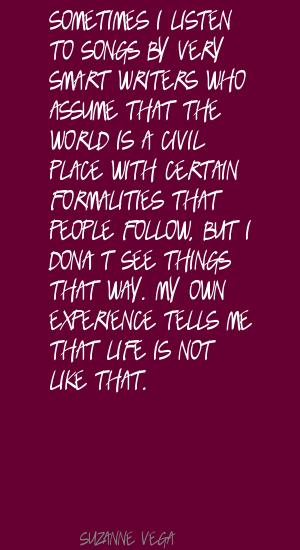 Formalities quote #2