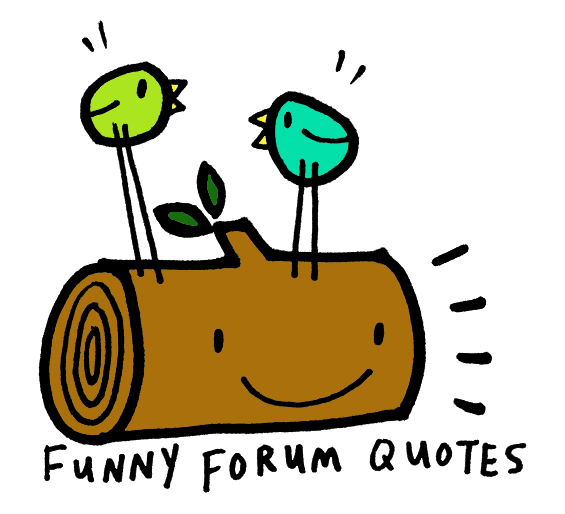 Forum quote