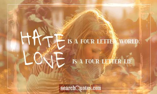 Four-Letter quote #2