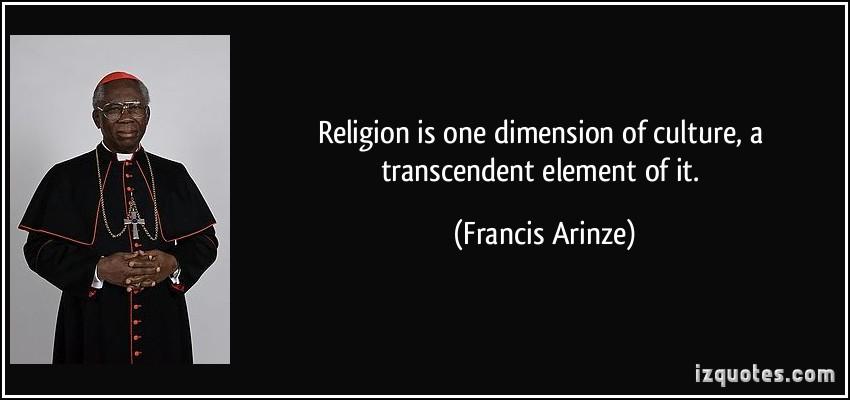 Francis Arinze's quote #1