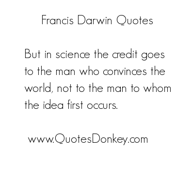 Francis Darwin's quote #1