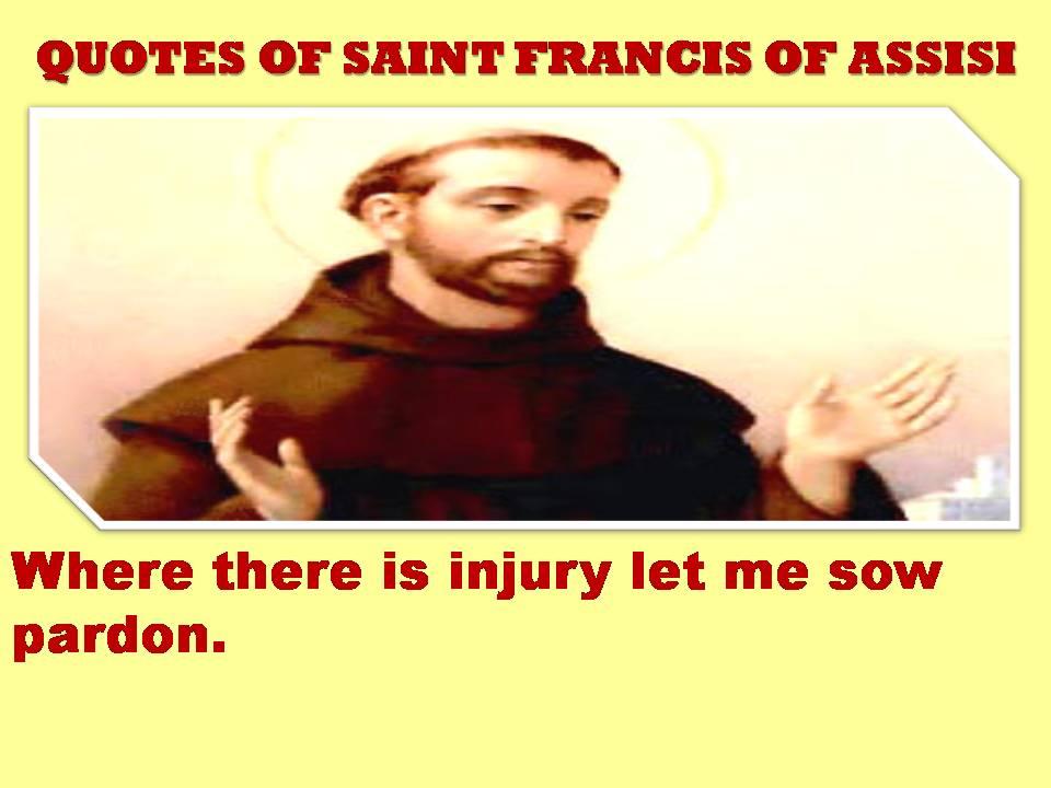 Francis quote #1