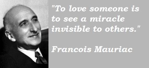 Francois Mauriac's quote #1