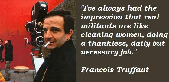 Francois Truffaut's quote #2