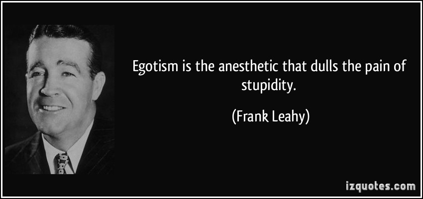 Frank Leahy's quote #1