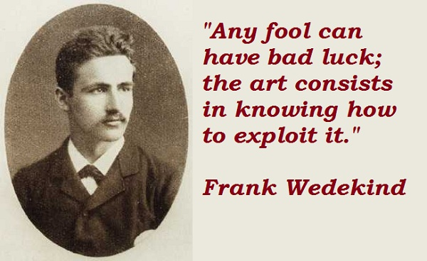 Frank Wedekind's quote #1