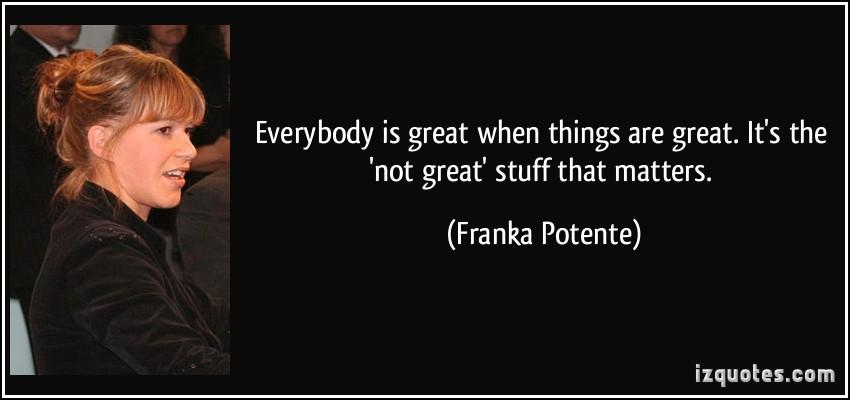 Franka Potente's quote #2