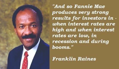 Franklin Raines's quote #2