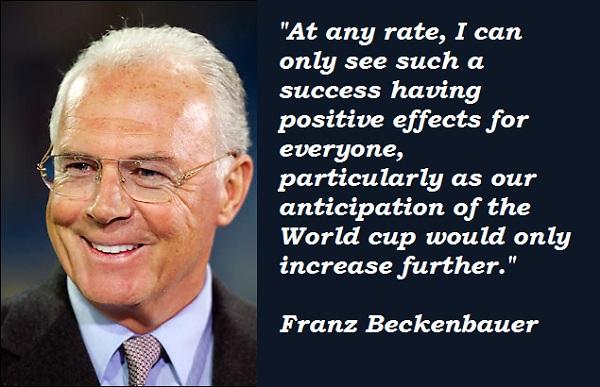 Franz Beckenbauer's quote #3