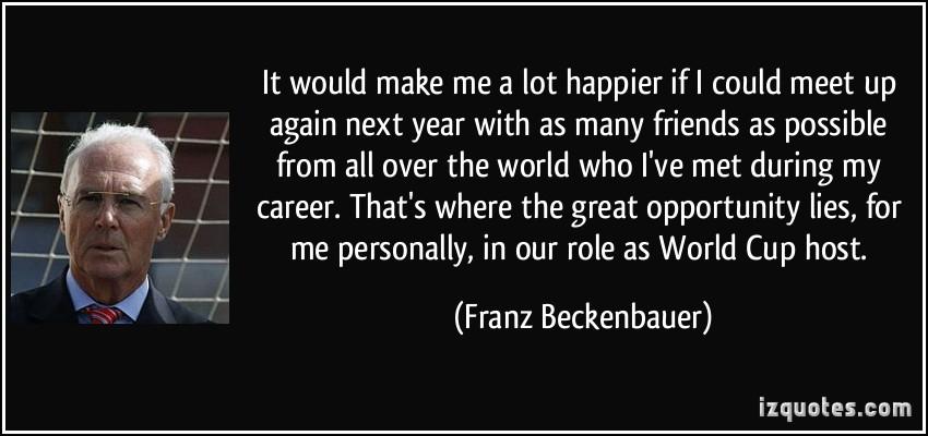 Franz Beckenbauer's quote #6