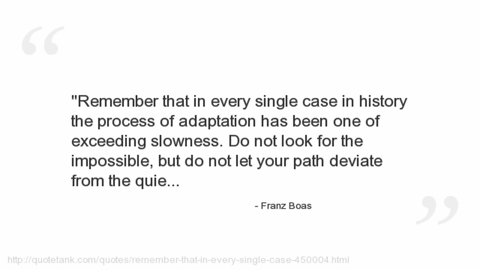 Franz Boas's quote #3