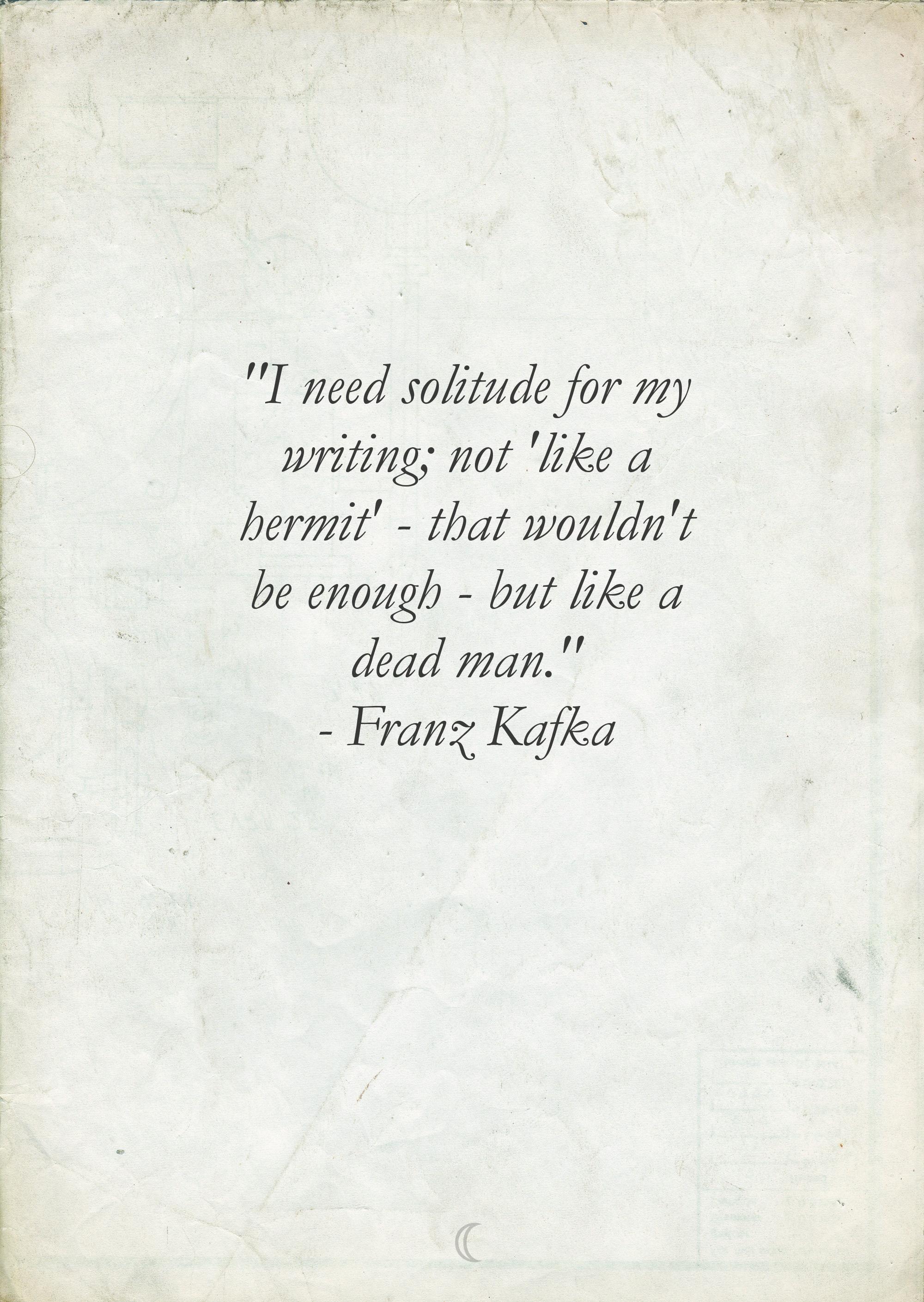 Franz Kafka's quote #7
