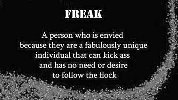Freak quote #5