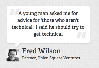 Fred Wilson's quote #3