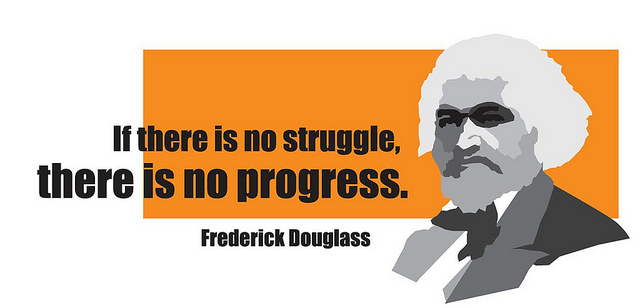 Frederick Douglass's quote