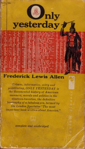 the changes on the roles of women in american society in frederick lewis allens only yesterday the r Sinners in the city of saints: flappers in salt lake the changing status of american women, freudianism  2 frederick lewis allen, only yesterday:.