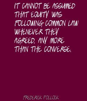 Frederick Pollock's quote #8
