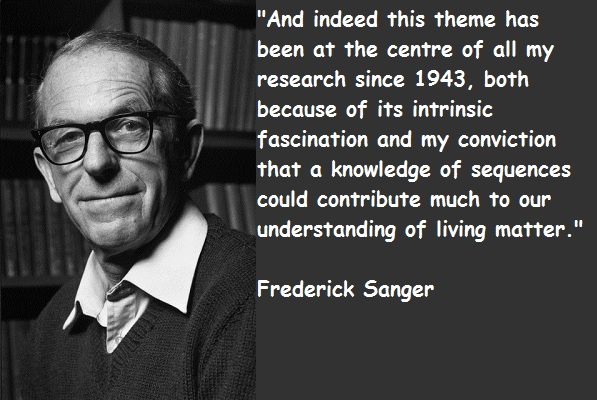 Frederick Sanger's quote #4