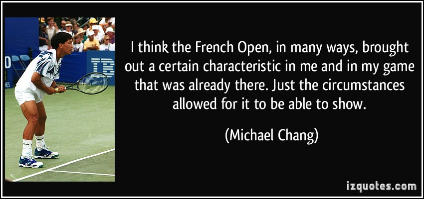 French Open quote #2