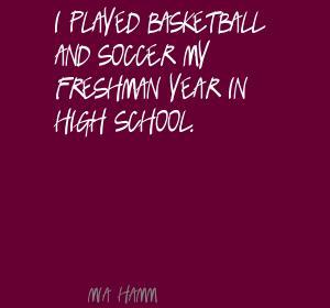 Freshman Year quote #2