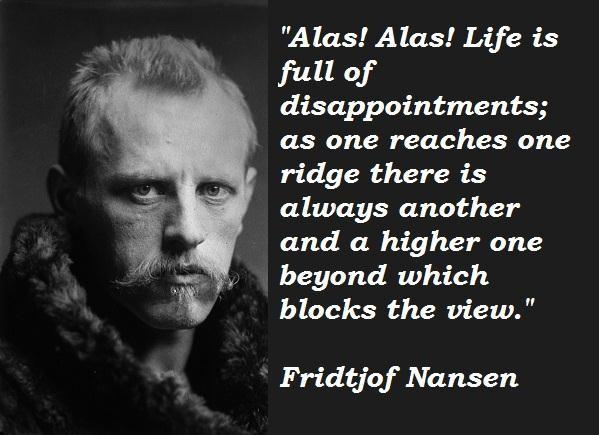 Fridtjof Nansen's quote #1