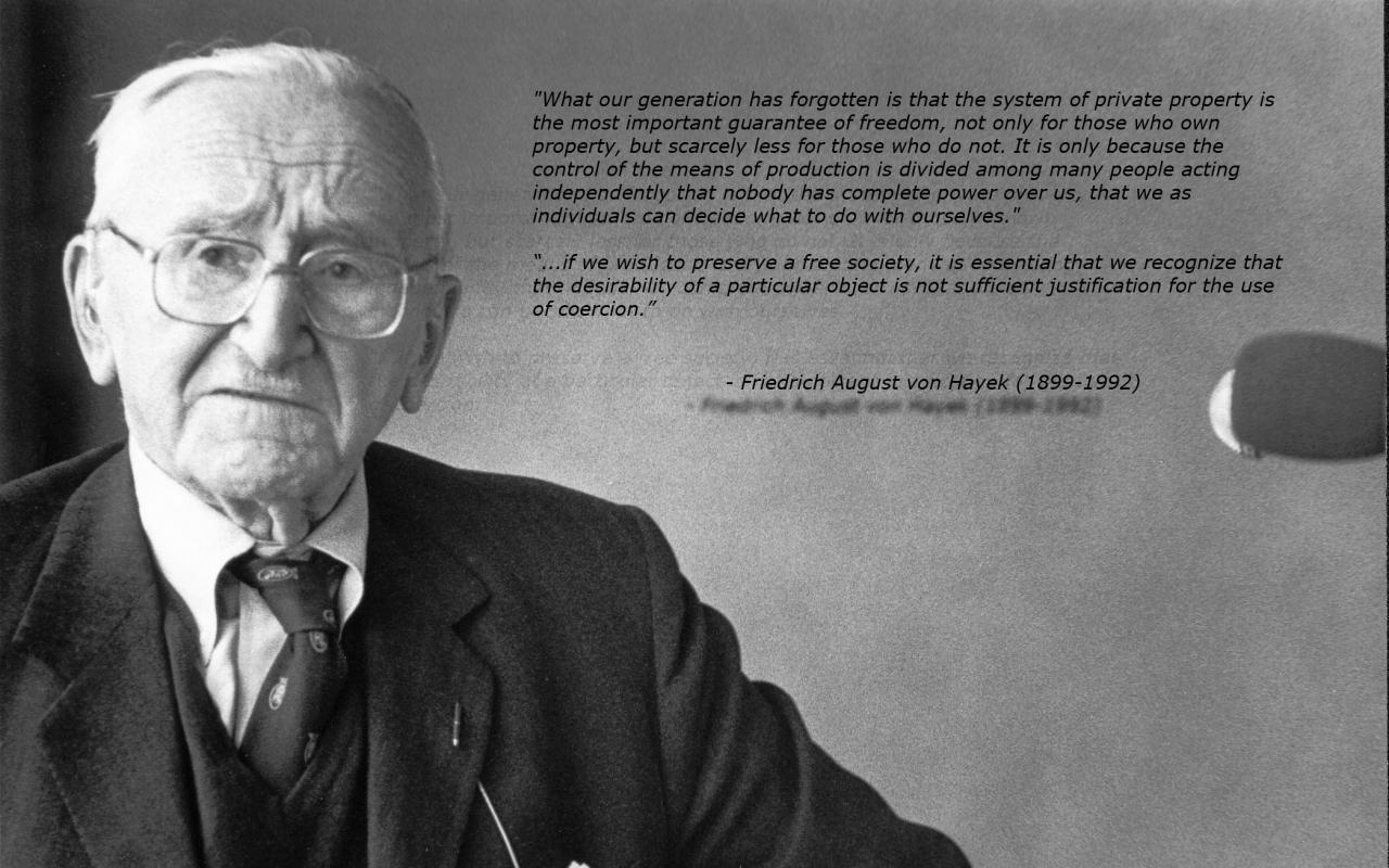 Friedrich August von Hayek's quote #4