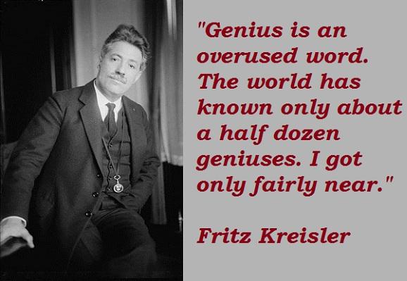 Fritz Kreisler's quote #3