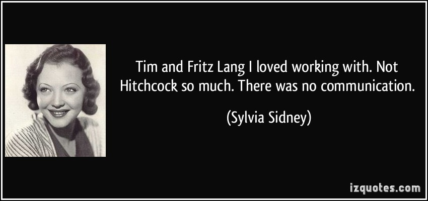 Fritz Lang's quote #1
