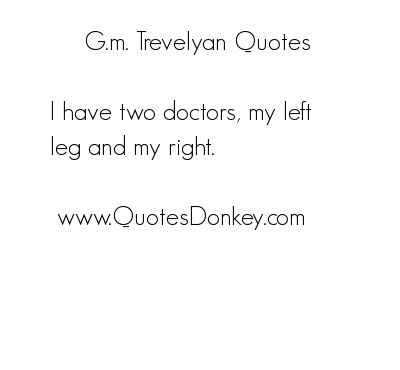G. M. Trevelyan's quote #6