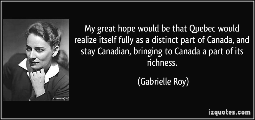 Gabrielle Roy's quote #2
