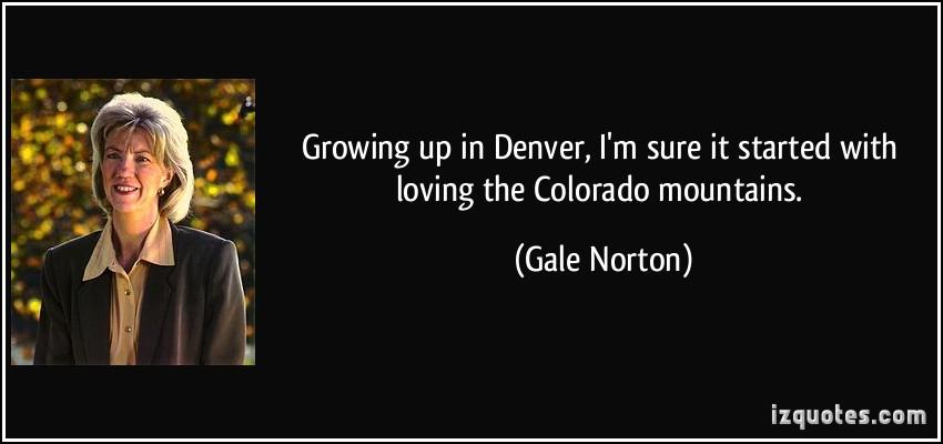 Gale Norton's quote #1