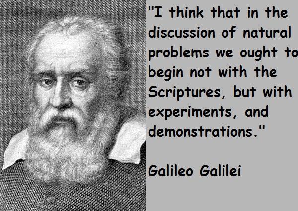 Galileo Galilei's quote #1