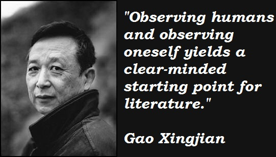 Gao Xingjian's quote #1