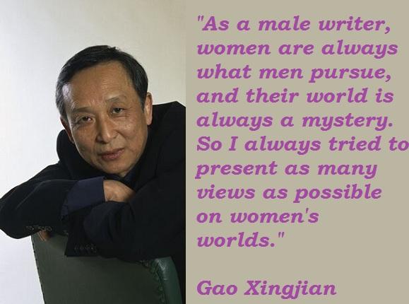 Gao Xingjian's quote #2