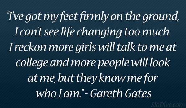Gareth Gates's quote #2