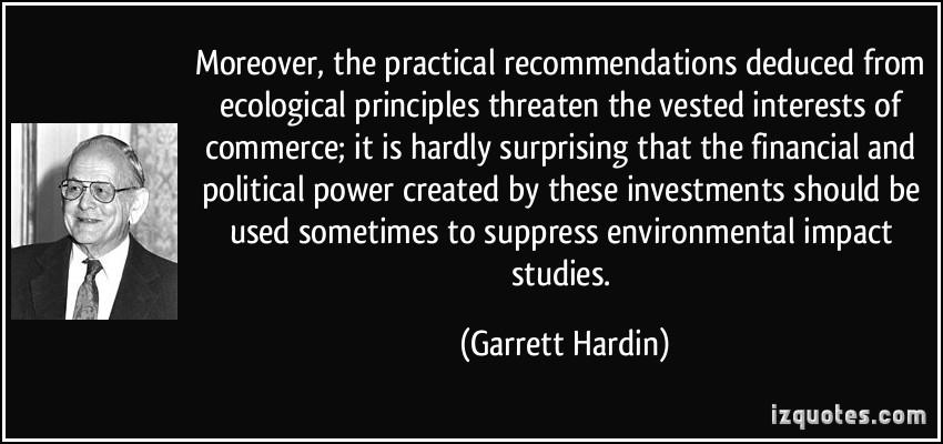 Garrett Hardin's quote #7