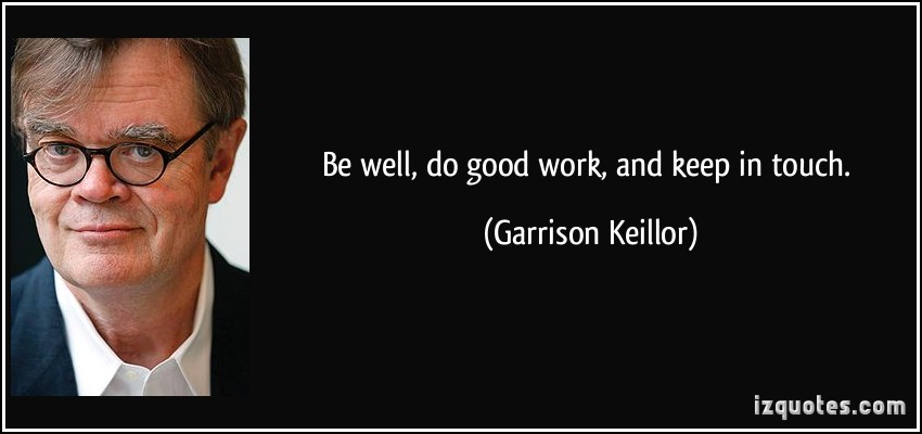 Garrison Keillor's quote #2