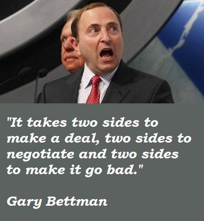 Gary Bettman's quote #1