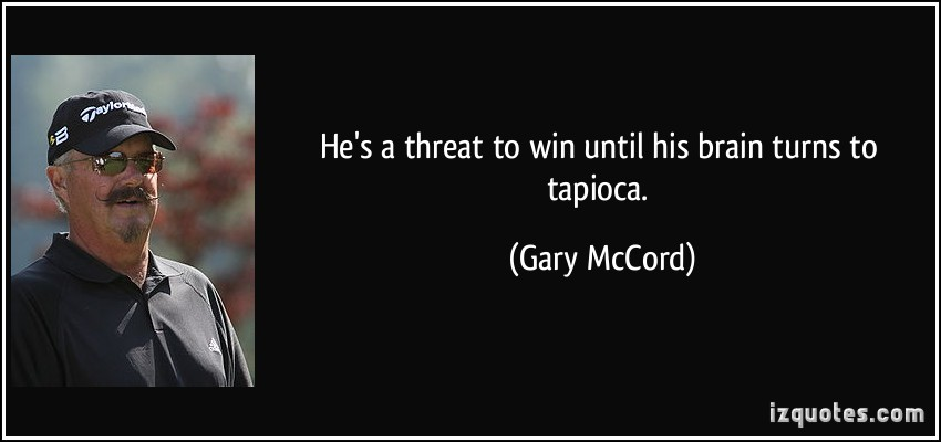 Gary McCord's quote #7