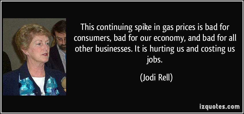 Gasoline Prices quote #1