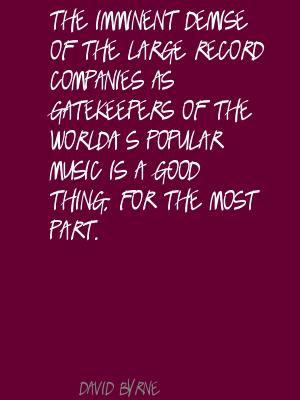 Gatekeepers quote