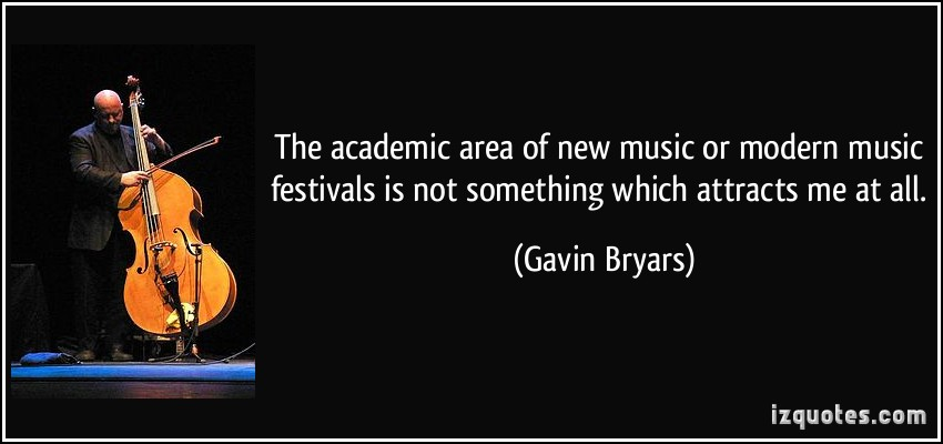 Gavin Bryars's quote #2