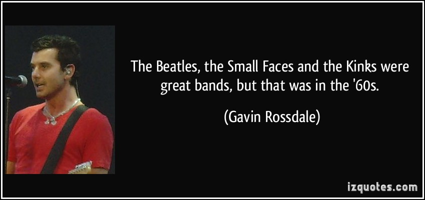 Gavin Rossdale's quote #1