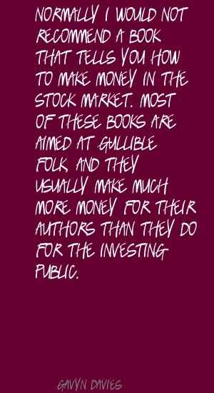 Gavyn Davies's quote #7