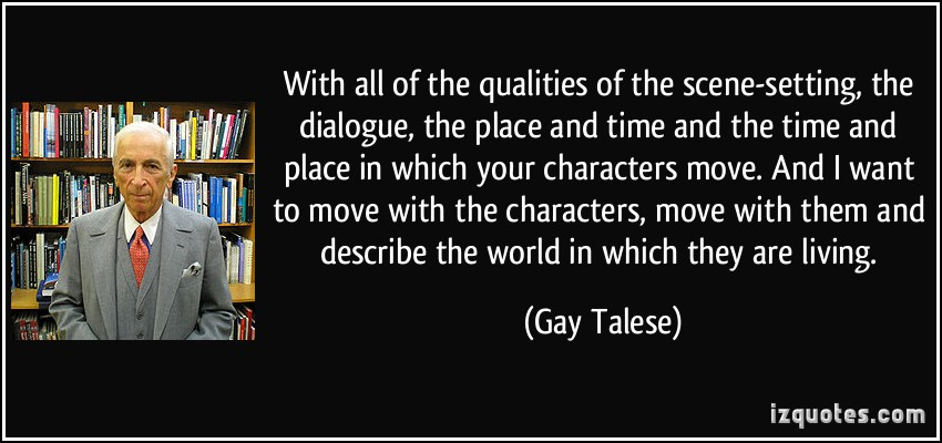 Gay Talese's quote #3