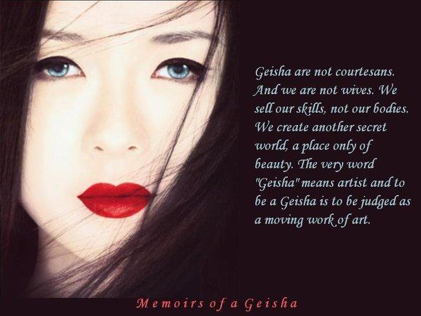 Geisha quote #1