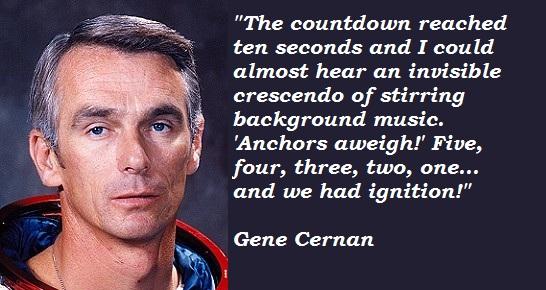 Gene Cernan's quote #1