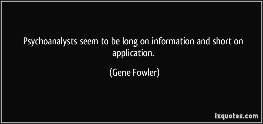 Gene Fowler's quote #3