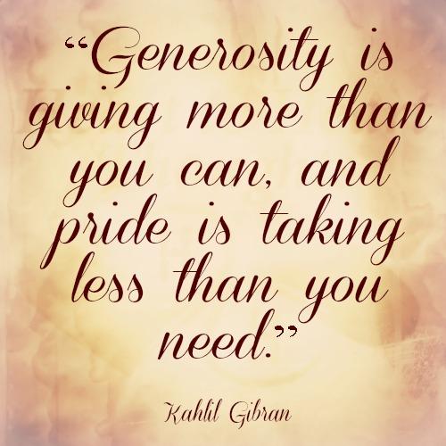 Generosity quote #7