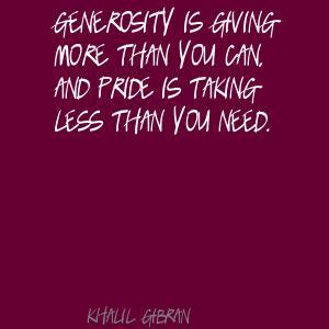 Generosity quote #6